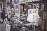 Monmartre Artist Working On Place du Tertre I