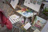 Monmartre Artist Working On Place du Tertre III