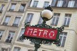 Paris Metro Signpost