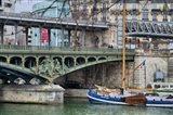 Pont de Bir Hakeim With Boat