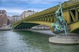 Pont Mirabeau Spans The Seine River