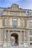 The Lions Gate Of The Louvre