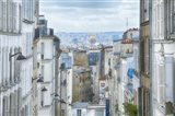View Over Paris From 'La Butte'
