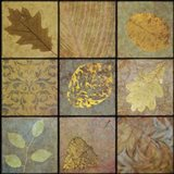 Golden Leaves Nine-Square