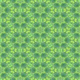 Stained Glass Green Pattern