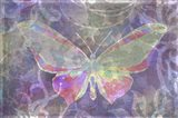 Purple Pink Butterfly Watercolor