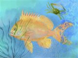 Orange Fish Sea Life