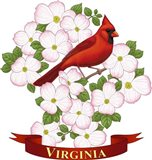 State Birds And Flowers VA 2