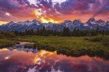 Black Ponds Sunset 1