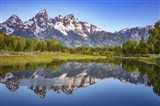 Ripples in the Tetons