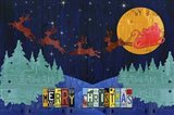 Santa Sleigh - Merry Christmas