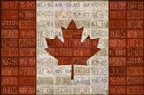 Canada License Plate Flag - your walls, your style!