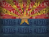 Arizona State Flag License Plates