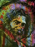 Jerry Garcia Playing