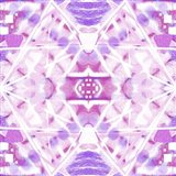 Pink and Purple Abstract