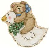 Bear On Goose