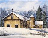 Yellow Barn Winter 1