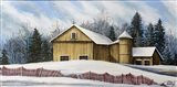 Yellow Barn Winter 2