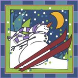 Coalman The Snowman Skiing 1