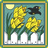 Daffodils 3 With Kernal The Crow