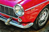 Fiat 1500 Cabriolet Red Front Detail