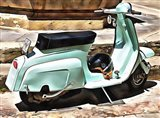 The Blue Lambretta