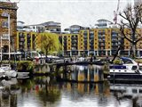 Reflections in St Katharine Docks