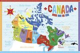 Canada Map - your walls, your style!