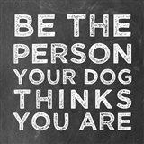 Person Dog