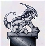 Lion Gargoyle XVI