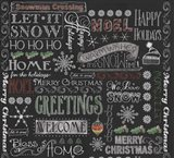 Chalk Christmas Patt