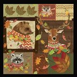 Fall Critters Collage