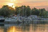Harbor At Sundown