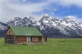Mormon Row Log Cabin