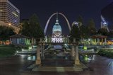 St. Louis At Night