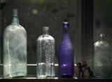 Still Life With Bottles And Found Figurines
