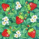 Strawberries + Leaves