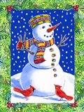 Joyful Snowman