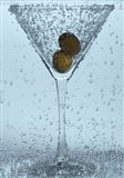 Olive Duo In Martini Glass I