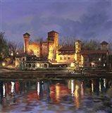 Il Castello Medioevale di Notte
