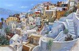 Santorini a Colori
