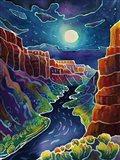 Moonlit Canyon