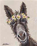 Donkey Rufus Flower Crown
