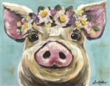 Pig Rosie Flower Crown 3