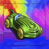 Pop Art Deco Race Car Toy