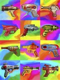 Pop Art Space Guns