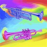 Pop Art Trumpets
