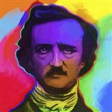 Edgar Allen Poe Pop Art