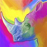Rhino Pop Art