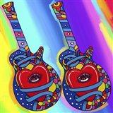 Guitars Heart Eye